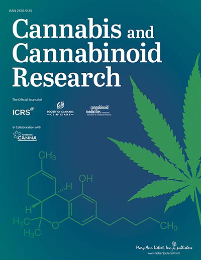Cannabis and Cannabinoid Research - Ahead of Print